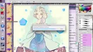 Frozen! Elsa Time Lapse