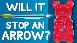 Will It Stop an Arrow? (Shooting Gummy Bears, Punching Bags, Giant Lollipops & More!)