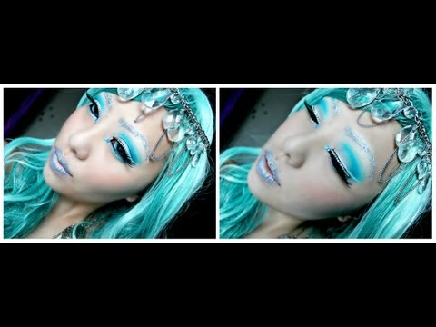 Halloween Tutorial - Ice Princess Makeup
