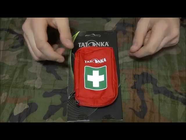 Видео Аптечка Tatonka First Aid S (Red)