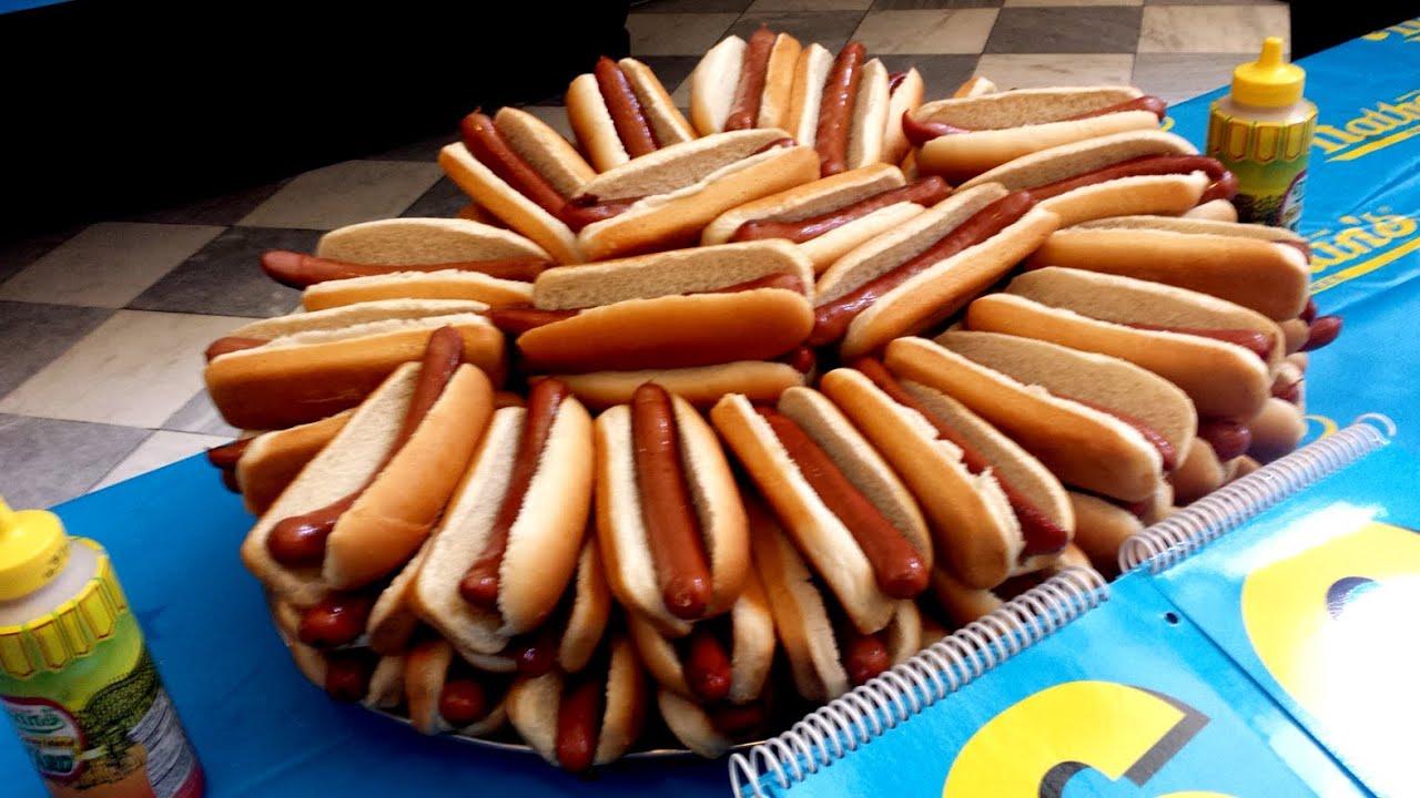 2015 Nathans Hot Dog Eating Contest thumbnail