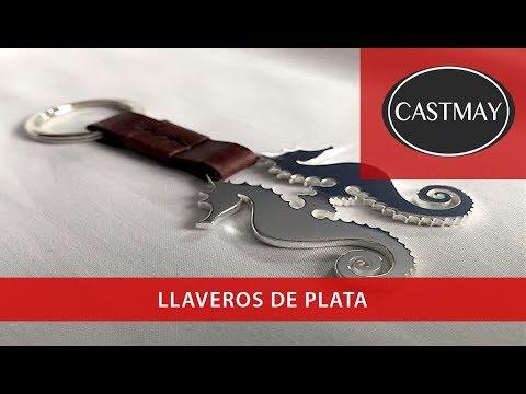 Llaveros de plata, diseños originales y personalizados