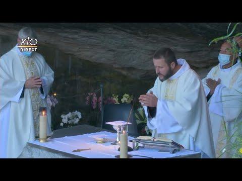 Messe de 10h à Lourdes du 23 septembre 2021