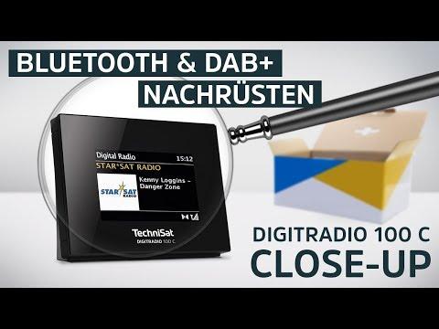 Bluetooth und DAB+ nachrüsten | DIGITRADIO 100 C | TechniSat