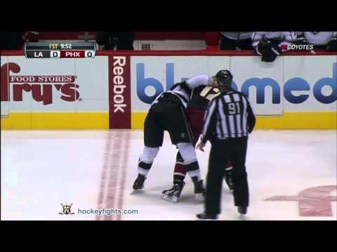 Paul Bissonnette vs. Kevin Westgarth