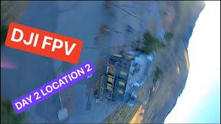 FPV Flying Day 2 Location 2 - DJI Digital FPV Part 107 Pilot with past MAVIC experience