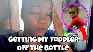 Getting My Toddler Off The Bottle | Life With Vicki