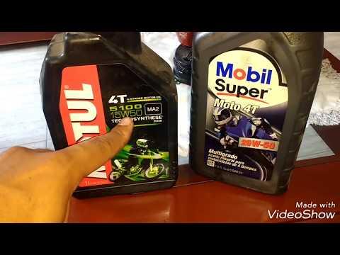 Aceite 4t para Motos