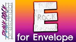 Letter E For Envelope | Fun Preschool Crafts For Kids | Best Preschool Activities For Kids