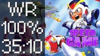 Speed Game Hors Série: Mega Man X Record Du Monde 100% En 35:10 !