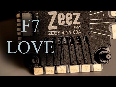 Zeez F7 with 60 AMP ESC Stack.  Love this