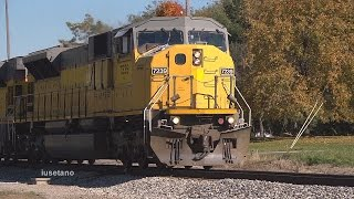 preview picture of video '(14) NS SD90/43MAC's @ Westfield Oct. 23 2014'