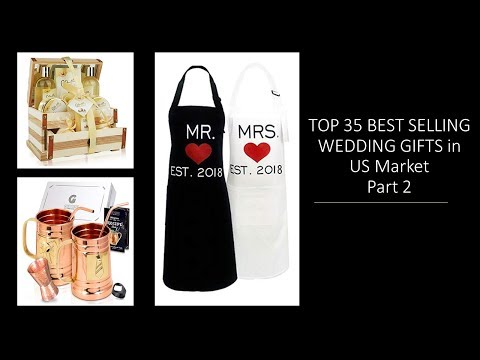Top 35 Wedding Gifts For Couples: Best Selling Gift Ideas USA Part 2 Ideas regalos