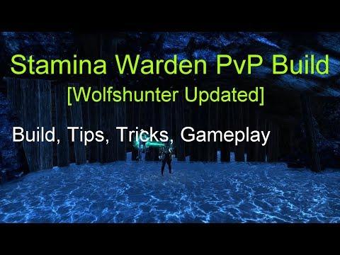 Video] Desert Rose on Stamden = BiS? New Stamina Warden PvP Build