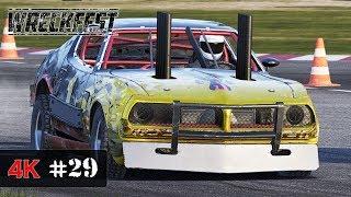 MONSTER CAR - Wreckfest Onboard Racing 4K - SPEED HUNTERS Event - PRO INTERNATIONALS #29