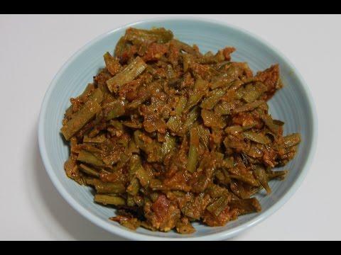 Goruchikkudu Tomato Curry - Cluster Beans with Tomato by Telugu Taste Buds