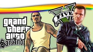 GTA 5 vs GTA SAN ANDREAS, QUAL O MELHOR?