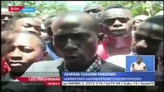 Leo Mashinani: Wanafunzi wazua ghasia chuo kikuu cha Maseno kutokana na mauwaji ya mmoja, 1/11/16
