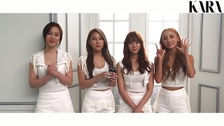 KARA 7th Mini Album [In Love] LIVE SHOWCASE INTERVIEW