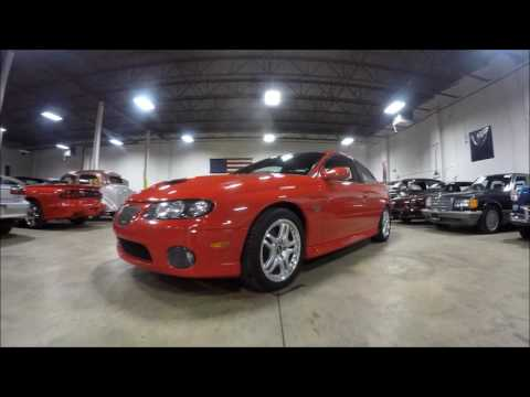 Video of 2005 GTO located in Michigan Offered by GR Auto Gallery - L6DM