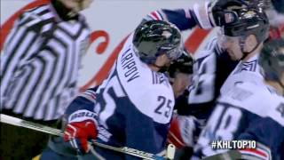 KHL Top 10 Goals for 2016 Gagarin Cup Round 1-2