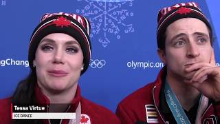 Canadian figure skaters were 'screaming' the national anthem - dooclip.me