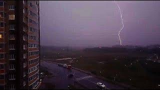 Как началась Непогода В Москве 15.08.2018