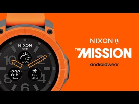 The Mission: The World's First Action Sports Smartwatch Powered by Google Android Wear™