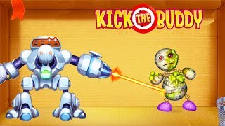 Kick the Buddy | Fun With All Weapons VS The Buddy | Android Games 2019 Gameplay | Friction Games