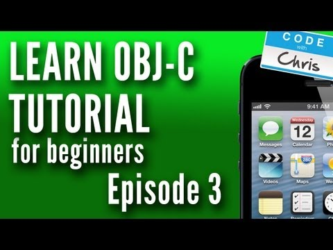 Learn Objective C Tutorial For Beginners – Episode 3 – Methods
