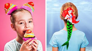 8 CUTE HAIRSTYLES IDEAS FOR GIRLS || Crazy And Cool Hair Hacks By 123 GO! Play