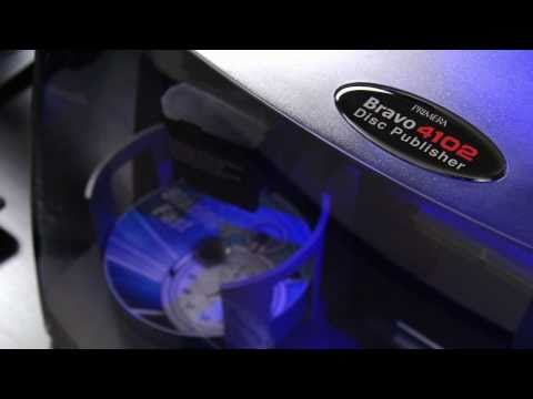 Primera Disc Publisher DP-4202 XRP CD / DVD BLU-Ray Roboter - 2 Laufwerke 2x50Disc Kapazität