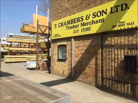 T Chambers London Timber Merchant Welcome