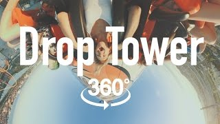 Жар-птица VR 360 | Drop tower video 360