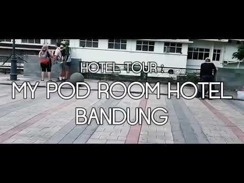 Hotel Tour: My Pod Room Capsule Hotel, Bandung