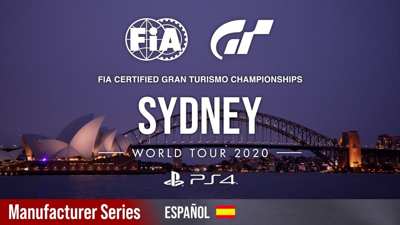 Gran Turismo World Tour | Coque López sube a lo alto del podio en las Manufacturer Series de Sidney