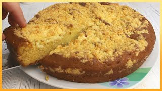 Нашел рецепт в Интернете и ОФИГЕЛ! Пирог с очень вкусной крошкой!