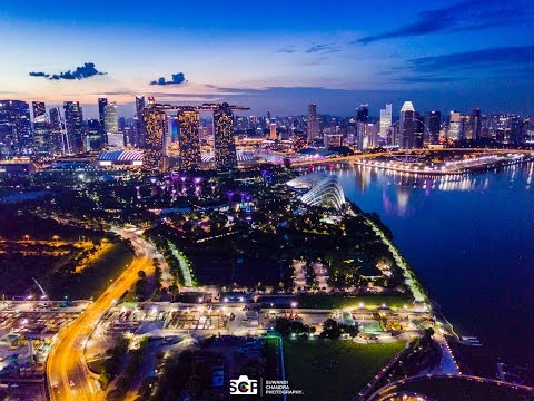Singapore Marina Bay 4K Video