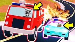 FIRETRUCK VS BUGATTI *SPEED TEST*!! NEW SECRET BEST CAR!?   Roblox Jailbreak New Update