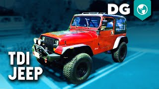 TDI Jeep YJ! Is a Volkswagen TDI the Best Diesel Swap For A Jeep?