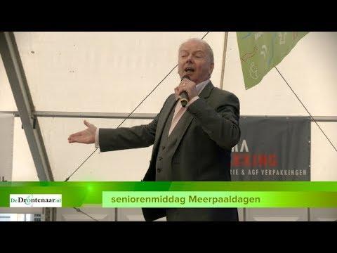 VIDEO | Polonaise voor Ronnie Tober bij terugkeer in Dronten na vijftig jaar