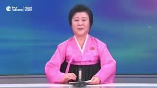 Главная ведущая северокорейского ТВ Ли Чхун Хи