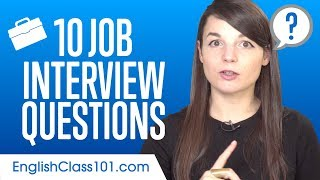 Top 10 Job Interview Questions In English