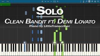 Clean Bandit   Solo (Piano Cover) Ft. Demi Lovato By LittleTranscriber