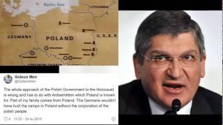 Kolejny nawiedzony! Obozy koncentracyjne nie powstałyby bez współpracy Polaków z Niemcami