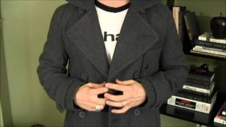 Pea Coat Perfection: Stylish Mens Outerwear For Winter