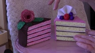 Felt Cake Tutorial With Lisa Pay  - Includes FREE Pattern