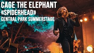 "Cage The Elephant at Central Park SummerStage - ""Spiderhead"" Live"