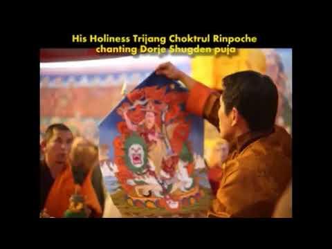 H.H. Kyabje Trijang Chocktrul Rinpoche Chanting Dorje Shugden Prayers