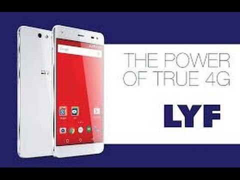 LYF Wind 5 Smartphone with Free Reliance JIO 4G SiM Inside Unboxing and Hands on